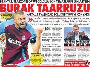 30 Ağustos Beşiktaş manşetleri